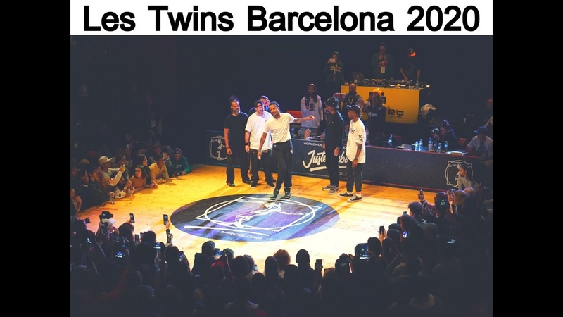 2020 Juste Debout Les Twins BARCELONA 2 spilling water