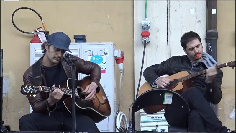 Jeeg Robot il backstage del concerto di Santamaria e Marinelli all'Ex Dogana