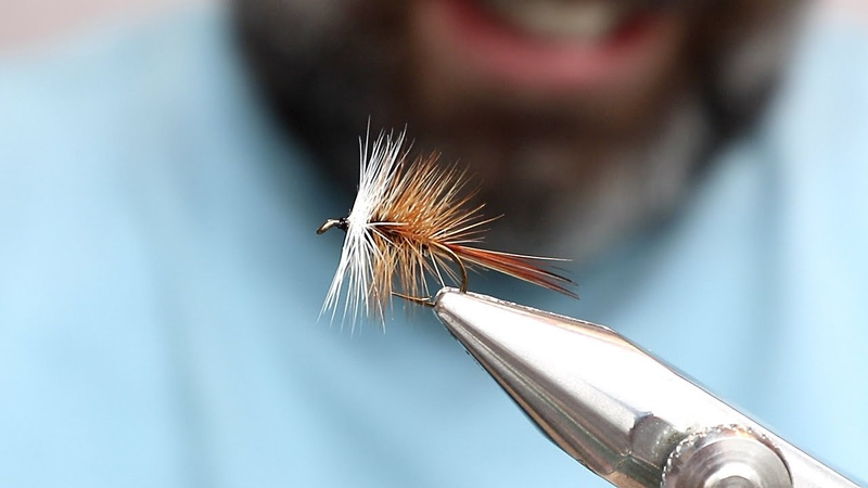 Brown Bivisible Fly Tying Tutorial - Tying Catskill Style Dry Flies