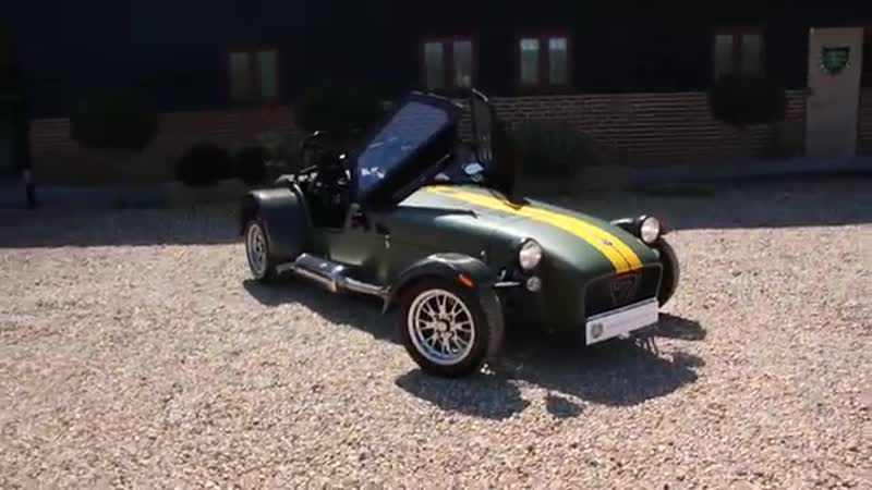 Caterham Super Sevens 2000 2 0 5 Speed Manual Finished in Green