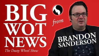 Big Wheel of Time News from Brandon Sanderson –  Interview