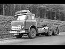 МАЗ Совтрансавто на кольцевых гонках грузовиков в Венгрии 1987г. - 1988г. Truck Racing