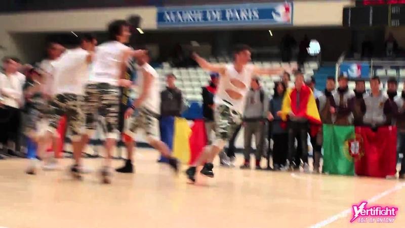 VERTIFIGHT WORLD 2012 | 18 Finals | Criminal Crew (Italy) vs. Nemesis Crew (Portugal)