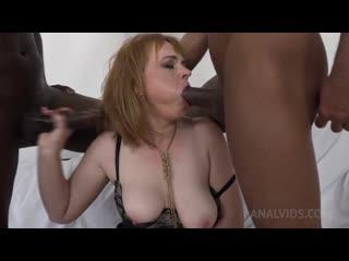 Kinky interracial DP with Elizabeth
