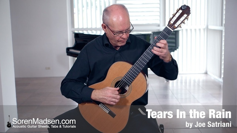 Tears in the Rain Joe Satriani Danish Guitar Performance Soren Madsen