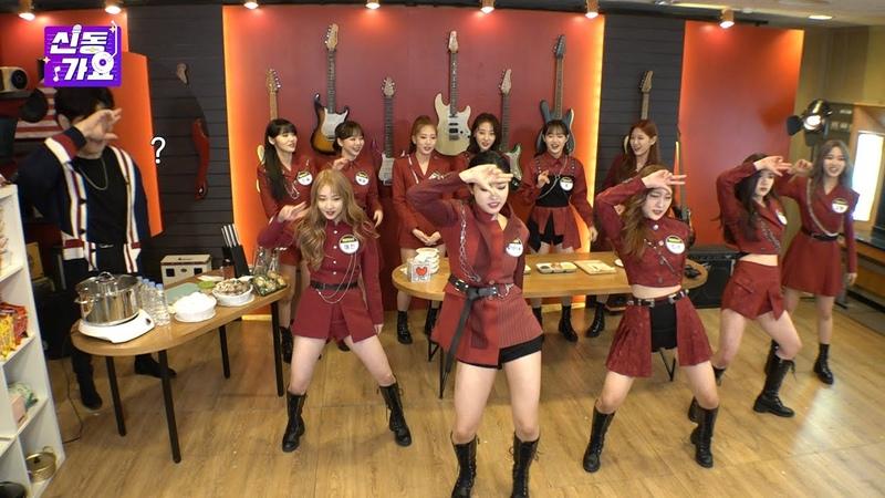 ENG SUB《신동가요 이달의소녀편 3부》 커버댄스 맛집 이달소가 왔다! 과연 라면