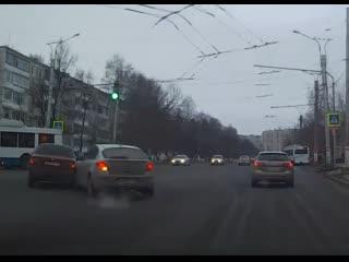 ДТП с участием такси Uber Саранск.