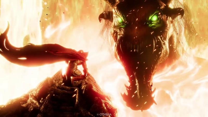 Спаун Комбо 62% и 53% MK11 Spawn hard combo Mortal Kombat 11