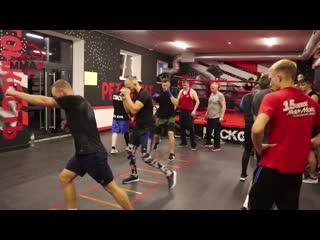Боксерская тренировка. Координационная лестница. Ч.2 - Дневник ММА