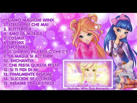 Winx Club tutte le canzoni della stagione 8 in Italiano   Винкс 8 сезон все песни на Итальянском!