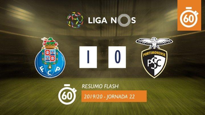 Лига НОШ 2019/20 (Тур 22): Порту – Портимоненсе 1:0 (лучшие моменты)