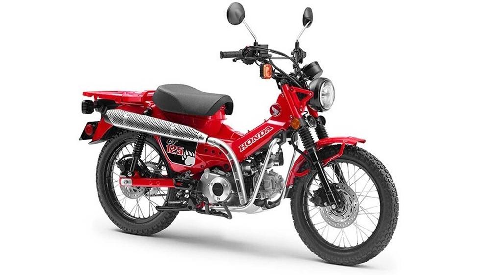 Концепт Honda CT125 представили на шоу Токио 2019
