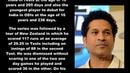 Indian Cricketer Sachin Tendulkar Biography Detail