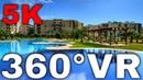 360° VR Thalassa Beach Resort Bungalow Bafra Karpaz North Cyprus 5K HD 4K Virtual Reality
