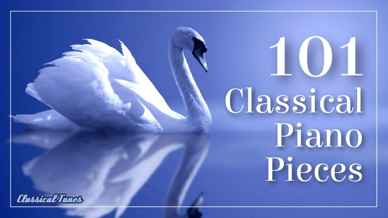 101 Classical Piano Pieces Mozart Chopin Bach Grieg Brahms Liszt Beethoven
