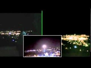 UFO de Jerusalem Gravado por 3 pessoas em locais diferentes