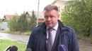 Николай Любимов оценил состояние дороги на улице Дачной