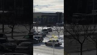 ДТП Toyota, Skoda, Ваз, на перекрёстке 31,31а,Шыгыс в Актау