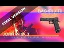 EMG STI TTI Licensed JW3 2011 Combat Master Airsoft Training Pistol Steel version