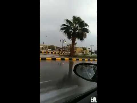 Lovely rain ☔ in Saudi Arabia