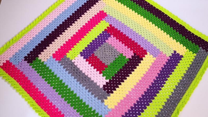 Örgü Kırkyama Hanım dilendi bey beğendi Battaniye Yapımı