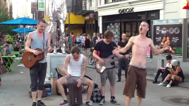 Brothers Moving - ''Minnie The Moocher'' / Union Square, NYC 2012-07-30