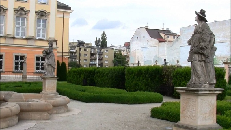 Pałac Królewski we Wrocławiu - Pałac Spätgenów - Ogrody Pałacowe