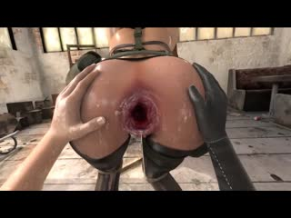 Breaking the quiet 3 [3d animation porn, фистинг, анал, fisting, dildo, horse, strapon, bdsm, extreme pussy, anal, gape]