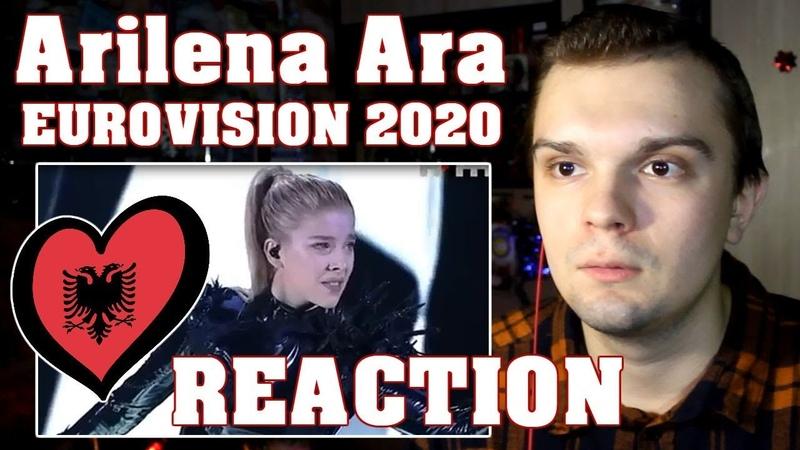 EUROVISION 2020 Arilena Ara Shaj Elvana Gjata ALBANIA 🇦🇱 Festivali i Kënges 58 REACTION