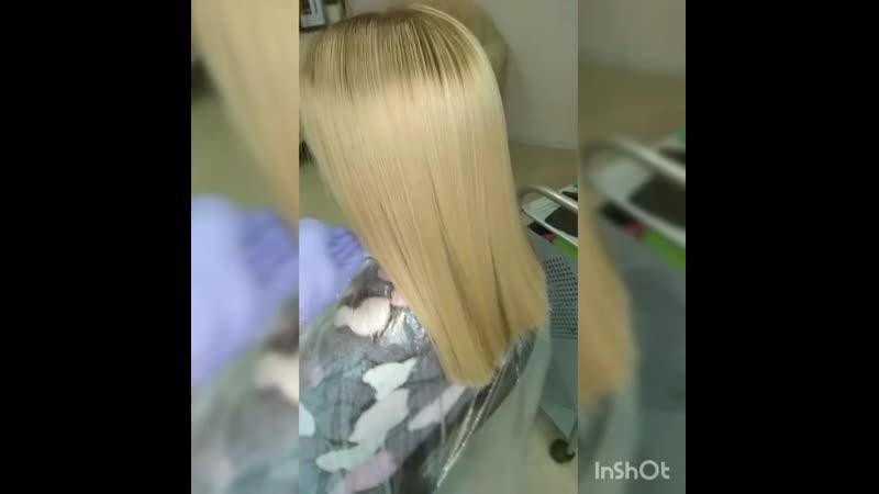 КЕРАТИНОВОЕ ВЫПРЯМЛЕНИЕ INOAR G HAIR