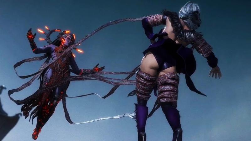 Sindel Takes on Cetrion Mortal Kombat 11 The Aftermath