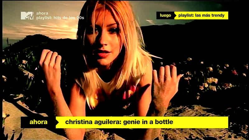 Christina Aguilera - Genie In A Bottle (1999) [MTV LATIN AMERICA HD] 1080i