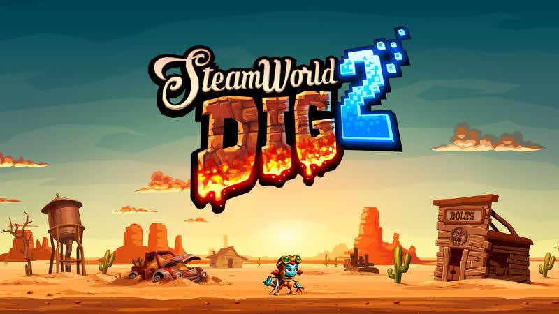 Играем SteamWorld Dig 2