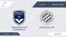 Girondins de Bordeaux 3 1 Montpellier 18 тур Фр