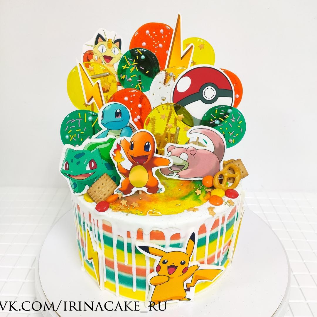 торт с Покемонами (Арт. 667)