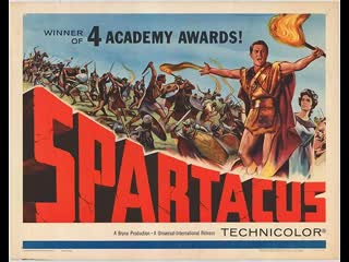 Spartacus (1960) Larger Screen  Kirk Douglas, Laurence Olivier, Jean Simmons