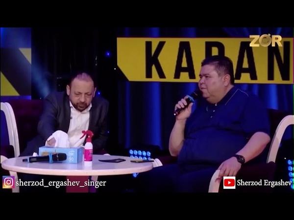 Sahnada karantin ko'rsatuvi Michael Jackson Sherzod Ergashev Cover tar