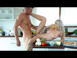 Arteya - Super Hot Russian Fucks Her Trainer (Russian, Blonde, Blowjob, Natural Tits)