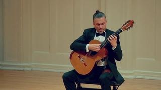 Artyom Dervoed plays Grand Sonata by Niccolò Paganini
