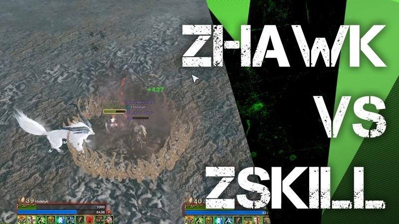 ArcheAge 6.0 Zskill vs Zhawk. PvP 1x1. Duel