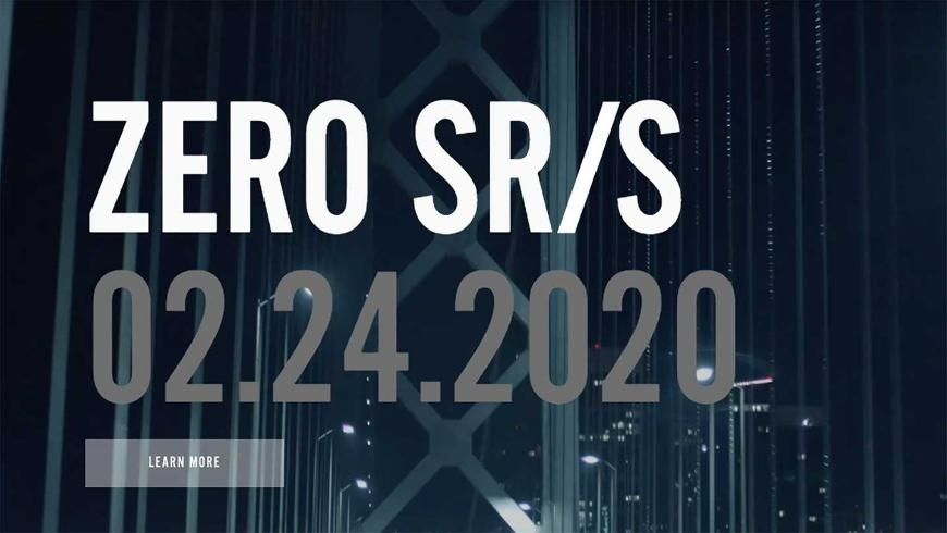 Тизер Zero SR/S - первый электроцикл компании с полным обвесом?!