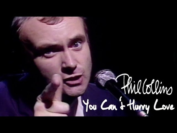 Phil Collins - You Cant Hurry Love (Official Music Video)