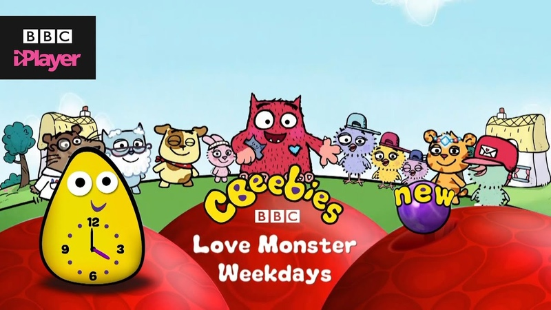 Love Monster New to CBeebies Streaming now on BBC iPlayer