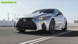 Lexus IS 350 F Sport 2021 года: