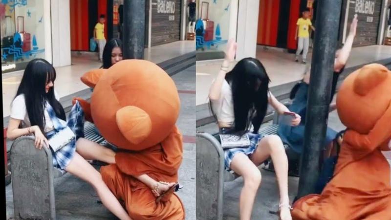 Chú gấu lầy tik tok vui nhộn P3 | Cao thủ triệu view tiktok Trung Quốc 2019
