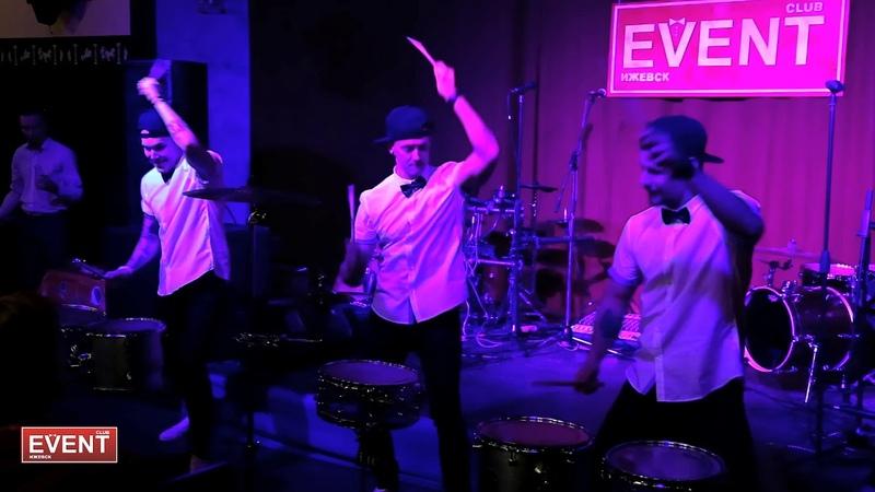 Шоу барабанщиков Ритмикон Выставка EVENT CLUB Ижевск 18 02 18