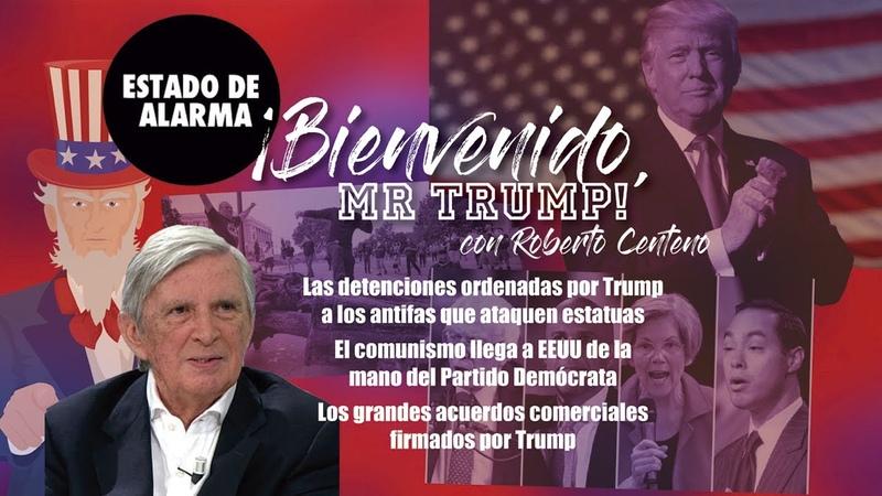 El COMUNISMO llega a EEUU y las DETENCIONES de TRUMP a ANTIFAS que ATAQUEN estatuas Roberto CENTENO
