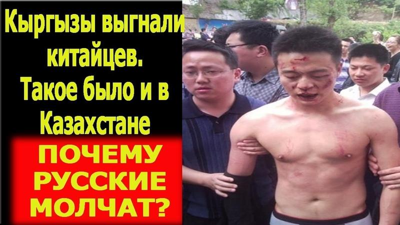 Кыргызы выгнали китайцев Такое было и в Казахстане А РУССКИЕ ТЕРПИЛЫ