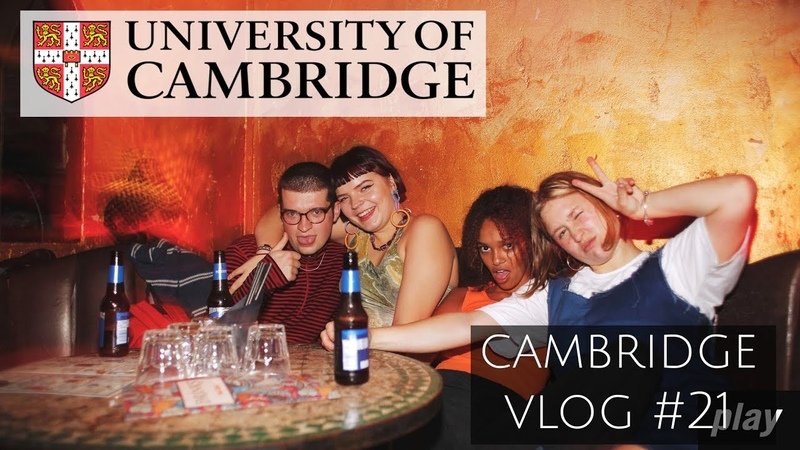 Busy time being sober on a Cambridge night out and NOT studying undergrad 21
