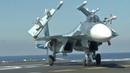 ТАВКР Адмирал Кузнецов , полёты Су-33